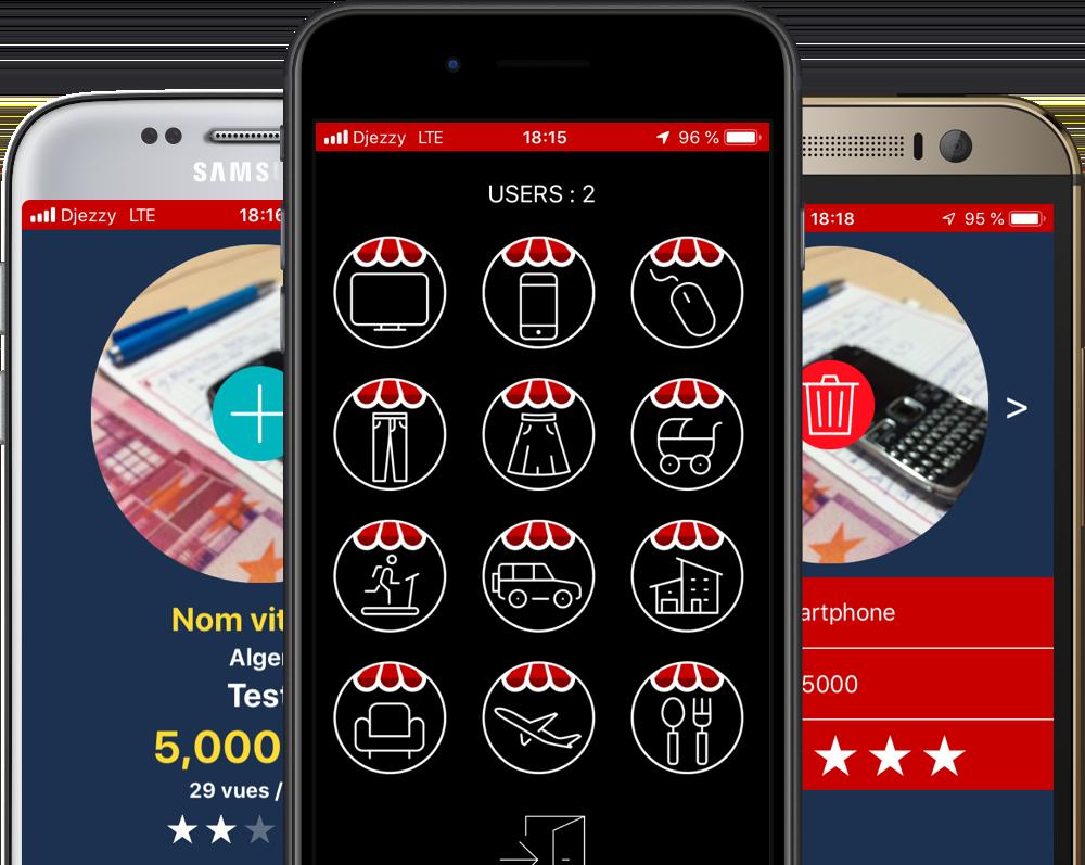 Illustration de l'application mobile OPEN